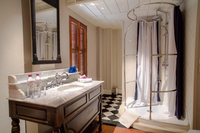 布拉薩立遺產酒店 - 龍坡邦 - 琅勃拉邦 - 浴室