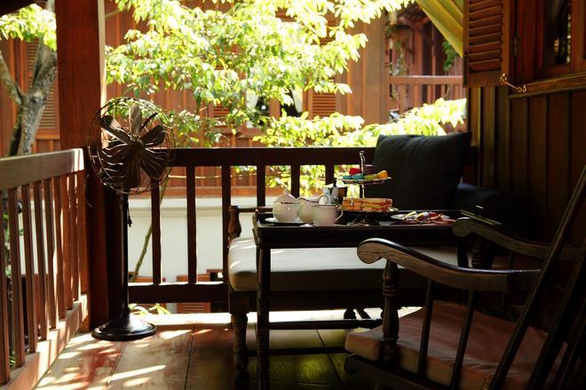 布拉薩立遺產酒店 - 龍坡邦 - 琅勃拉邦 - 陽台