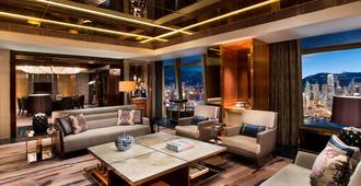 The Ritz-Carlton Hong Kong - Hong Kong - Sala de estar