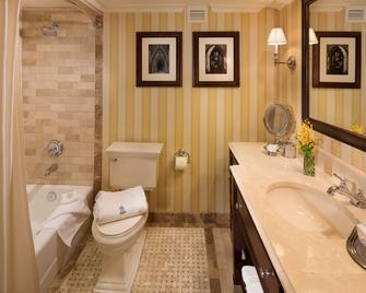 Washington Duke Inn & Golf Club - Durham - Bathroom