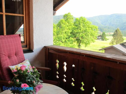 Gastehaus Bergstuberl - Reit im Winkl - Balcony