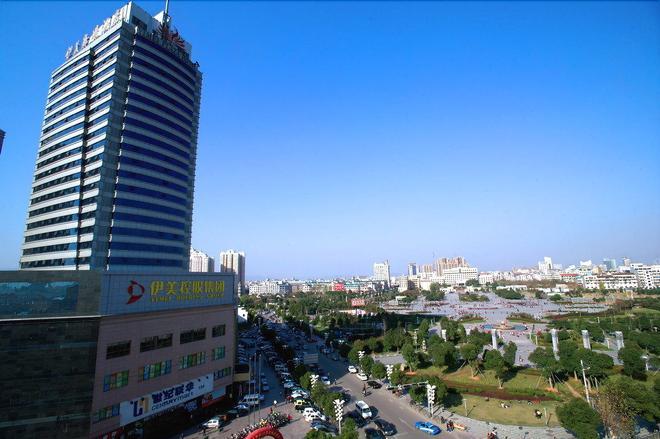 Yimei Plaza Hotel - Yiwu - Outdoors view