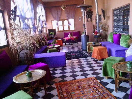 伊托爾費蘭特多酒店 - 艾特本哈杜 - 瓦爾扎扎特 - 休閒室
