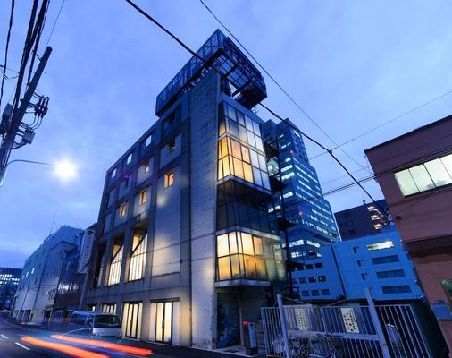 Oak Hostel Cabin - Tokio - Rakennus