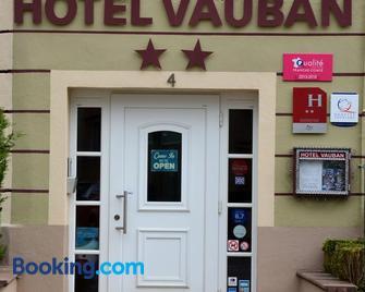 Hotel Vauban - Belfort - Gebouw