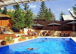 Hôtel Plein Sud et piscine - Saint-Chaffrey - Pool