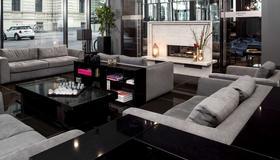 Hotel AMANO Grand Central - Berlín - Sala de estar
