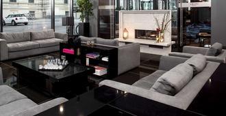 هوتل أمانو جراند سنترال - برلين - غرفة معيشة