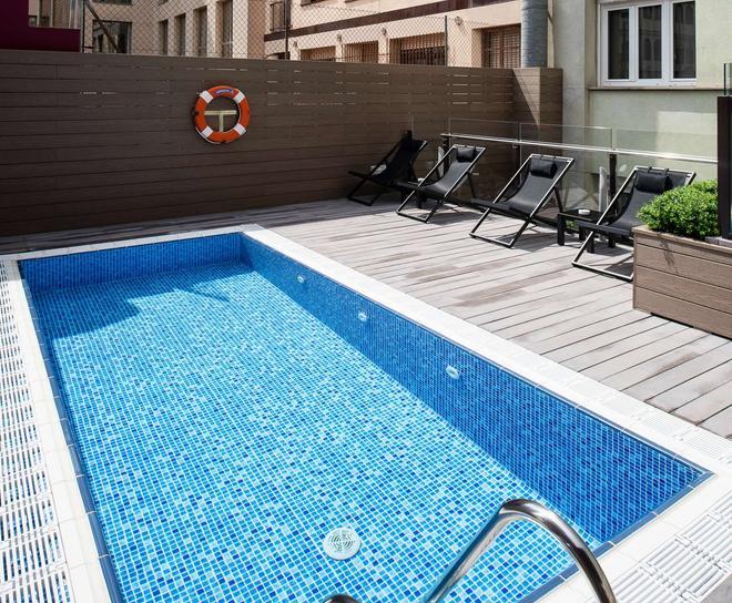 加泰羅尼亞蒂亞戈納爾中心酒店 - 巴塞隆拿 - 巴塞隆納 - 游泳池