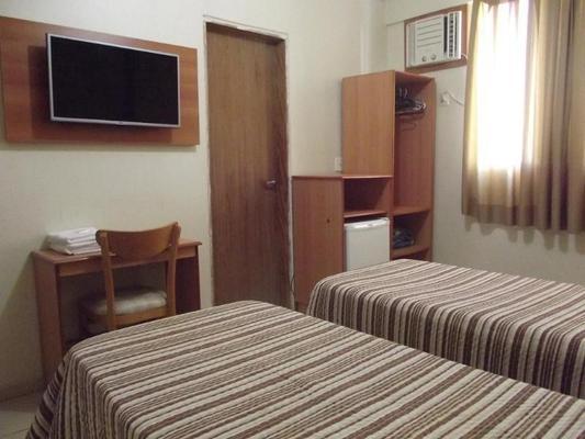Hotel Guarumar - Guarujá - Κρεβατοκάμαρα