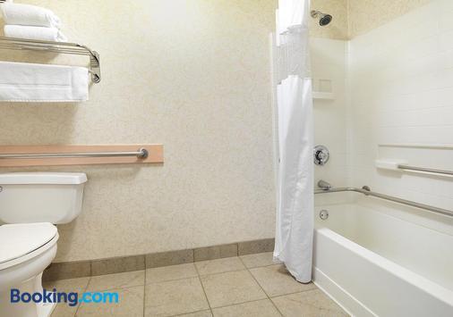 Crystal Inn Hotel & Suites Salt Lake City - Downtown - Salt Lake City - Bathroom