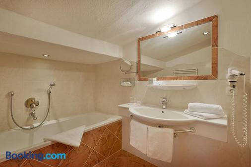 Hotel Glockenstuhl - Gerlos - Bathroom