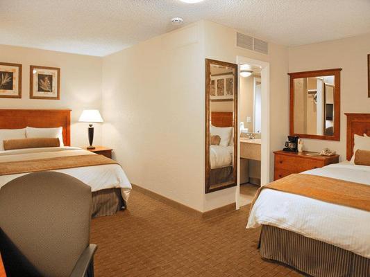 貝斯特韋斯特機場維斯塔旅館 - 波伊西 - 博伊西 - 臥室