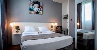 Hôtel Le Manoir - La Rochelle - Yatak Odası