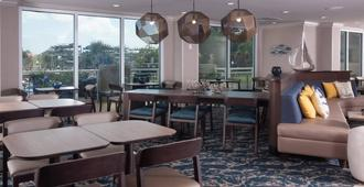 Springhill Suites By Marriott Charleston Downtown Riverview - צ'רלסטון - מסעדה