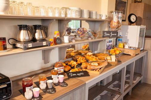 Brit Hotel Aux Hortensias - Lannion - Buffet
