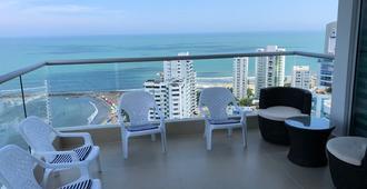 Apartamentos Cartagena 01 - קרטחנה דה אינדיאס - מרפסת