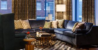 Kimpton Hotel Monaco Pittsburgh - Pittsburgh - Sala de estar