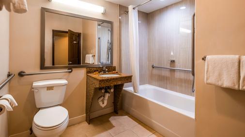 Best Western Plus The Inn & Suites at the Falls - Poughkeepsie - Bathroom
