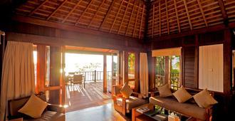 The Menjangan - Gerokgak - Sala de estar