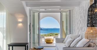 Cyano Suites - Naxos - Bedroom