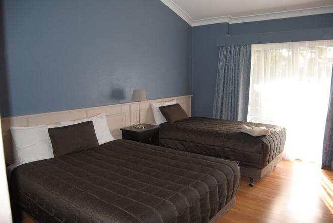 Airlie House Motor Inn - Scone - Schlafzimmer