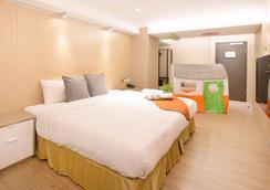 Click Hotel - Taipei Main Station Branch - Taipei - Bedroom