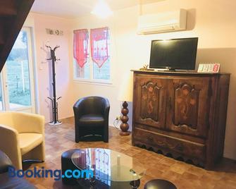 Gîte Prat - Аретт - Living room