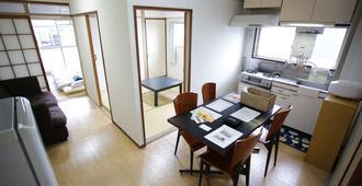 Takano Apartment - טוקיו - חדר אוכל