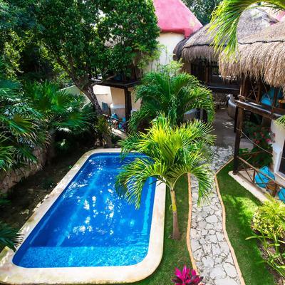 Hotel Uolis Nah - Tulum - Pool