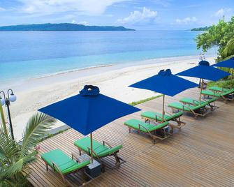 Gangga Island Resort & Spa - Likupang Barat - Beach