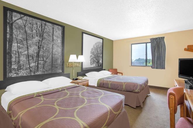 Super 8 by Wyndham Roanoke VA - Roanoke - Schlafzimmer