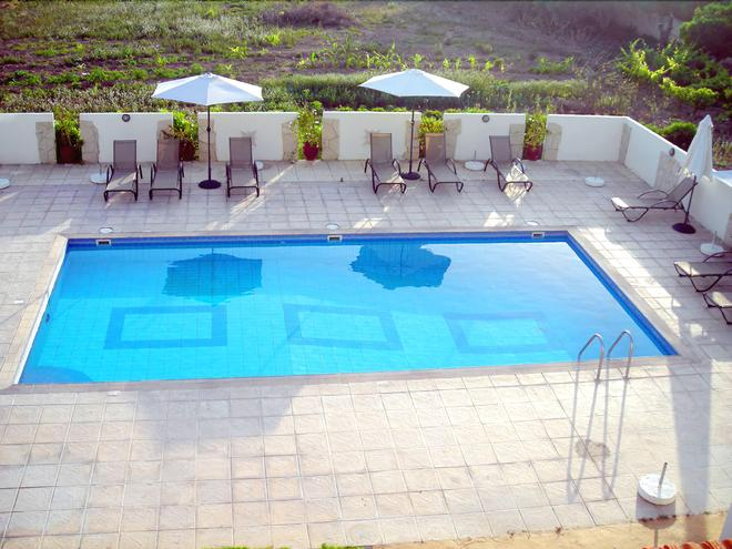 Angela Holiday Apartments - Paphos - Pool