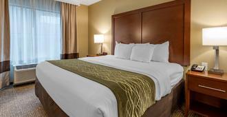 Comfort Inn & Suites - פיטסבורג - חדר שינה