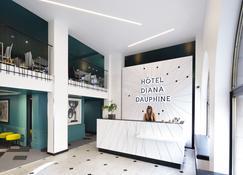 Hotel Diana Dauphine - Страсбург - Ресепшен