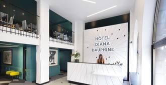 Hotel Diana Dauphine - Strasbourg - Resepsjon