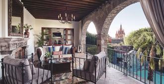 Casa De Sierra Nevada, A Belmond Hotel, San Miguel De Allende - San Miguel de Allende - Balkong