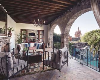 Casa De Sierra Nevada, A Belmond Hotel, San Miguel De Allende - San Miguel de Allende - Balcony
