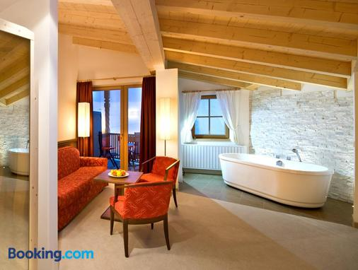 Chalet Tianes - Castelrotto - Living room