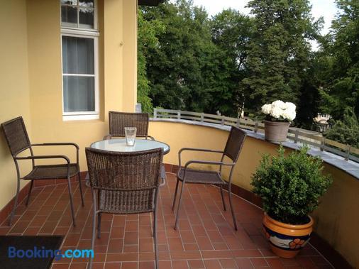Pension Villa Gisela - Weimar - Balcony