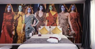 水星巴黎意大利廣場酒店 - 巴黎 - 巴黎 - 臥室