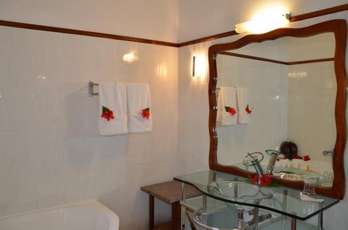 Villa Chez Batista - Takamaka - Bathroom