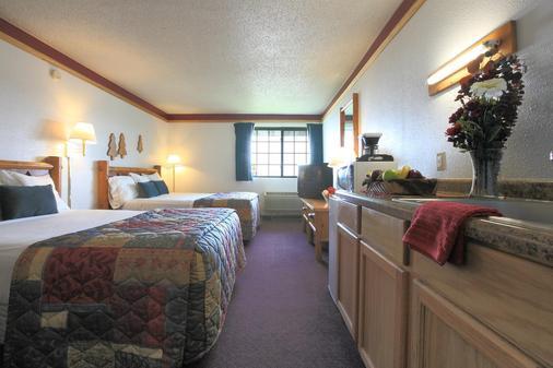 Americas Best Value Inn Duluth Spirit Mountain Inn - Duluth - Bedroom