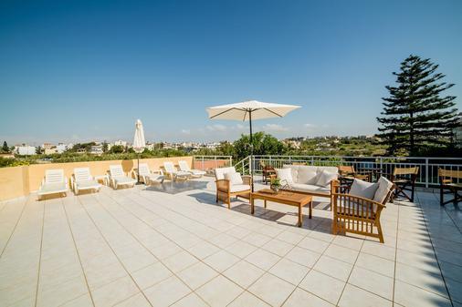 Ξενοδοχείο Ρωξάνη - Ηράκλειο - Βεράντα