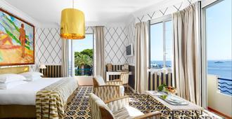 Hotel Belles Rives - Antibes - Makuuhuone