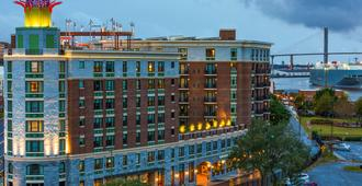 Homewood Suites Savannah Historic District/Riverfront - Savannah - Building