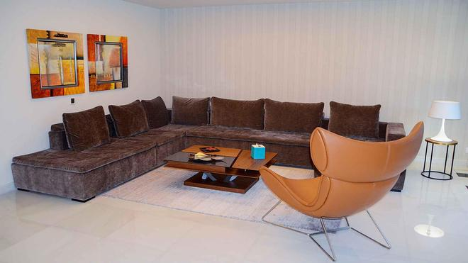 Al Seef Resort & Spa By Andalus - Abu Dhabi - Living room