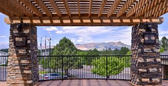 Best Western Plus Peak Vista Inn & Suites - Colorado Springs - Balkong