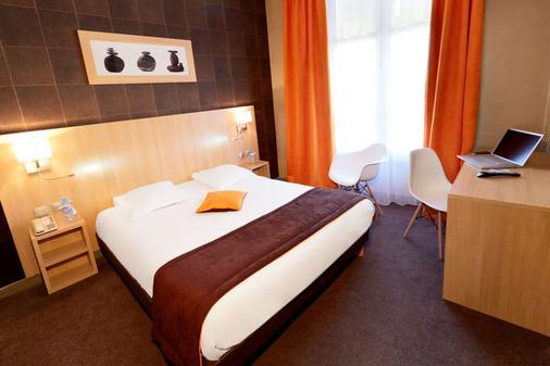 Kyriad Reims Centre - Reims - Schlafzimmer