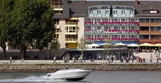 Hotel Haus Morjan - كوبلينز - مبنى